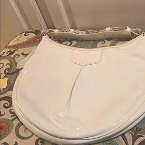 Patent Leather Dooney Hobo Bag